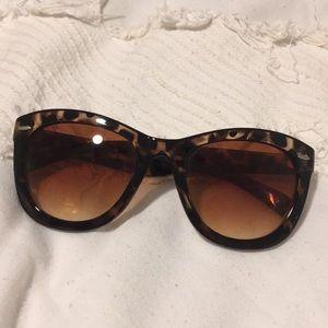 Betsy Johnson Tortoise Sunglasses